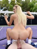 Natalia Starr tennis court sex